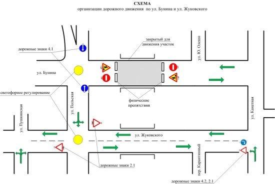В Одессе меняется схема